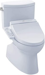 TOTO MW4742034CEFG WASHLET+ Vespin II Two-Piece Elongated Toilet