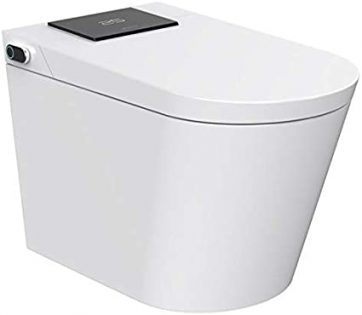 Trone NETBCDER-12.WH Nobelet Electronic Toilet with Integrated Bidet