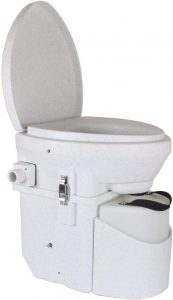 Nature's Head Self Contained Composting Toilet with Spider Handle Design